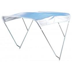 Capottina bianca parasole in acciaio inox AISI 316