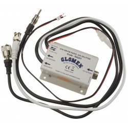 Splitter Glomex RA201 per ricevere simultaneamente segnali AM/FM e AIS