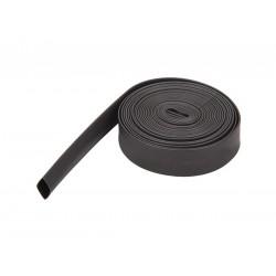 Guaina termorestringente in PVC nero - rapporto restringimento 2:1