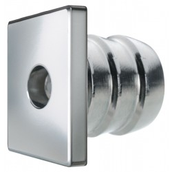 Luce di cortesia quadrata in acciaio inox AISI 316 - Quick Mod. TESS