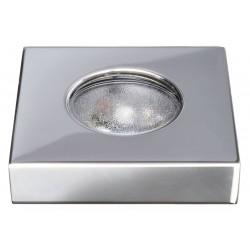 Luce di cortesia calpestabile ad incasso in acciaio inox AISI 316 - Quick Mod. HALLIE