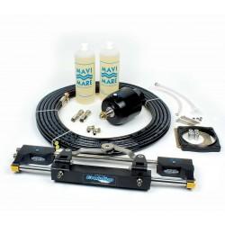 Timoniera idraulica universale GF300BT per motori da 85 HP a 300 HP o coppia di motori da 300 HP con eliche controrotanti