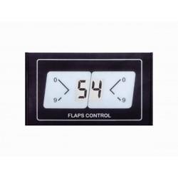 Pannello display LCD indicante l'angolazione flaps