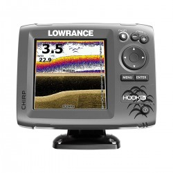 Fishfinder/Chartplotter Lowrance Hook-5x Mid/High/DownScan