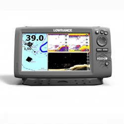 Lowrance Eco/GPS Hook-9 con trasduttore Mid/High/DownScan