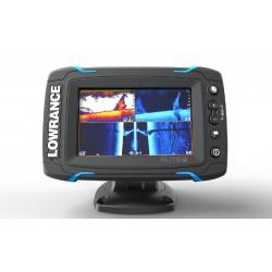 Lowrance Eco/GPS Elite 5-Ti con trasduttore Mid/High/DownScan