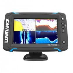 Lowrance Eco/GPS Elite-7 Ti con trasduttore Mid/High/TotalScan