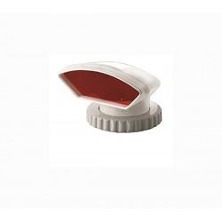 Manica a vento Vetus in silicone, con interno rosso, anello Ø mm. 75 - mod. TRAMON