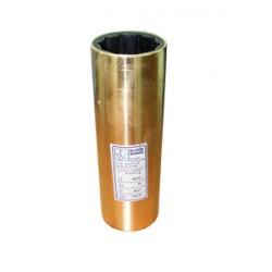 Eliche Radice - Boccola in bronzo e gomma idrolubrificata per assi decimali, Ø interno mm. 60