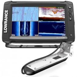 Lowrance fishfinder Eco/Gps Elite-9 Ti con trasduttore Med/High/TotalScan