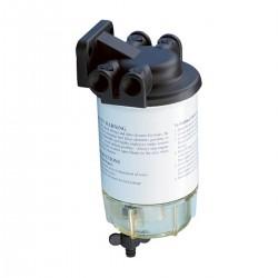 Filtro separatore acqua/carburante 10 MICRON completo di vasca e sfiato