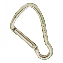 Moschettone in acciaio inox AISI 316 - chiusura Key-Lock
