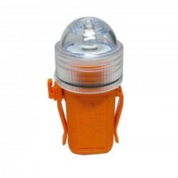 Luce lampeggiante a LED per cinture e giubbotti di salvataggio