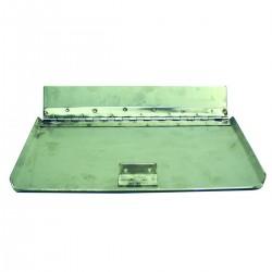 Coppia tavole in acciaio inox spessore mm. 3