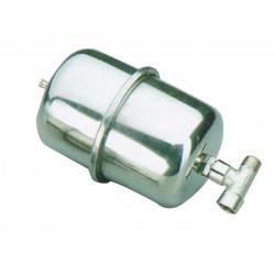 Polmone vaso ad espansione in acciaio inox per pompe automatiche - Marco