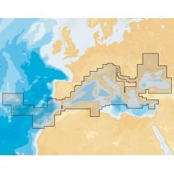 Cartografia Navionics+ - Cartuccia marina 43XG di tutto il Mediterraneo da Gibilterra al Mar Nero