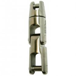 Giunto acciaio inox AISI 316 girevole con doppio snodo