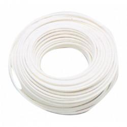 Cavo Parafil rivestito in materiale plastico bianco