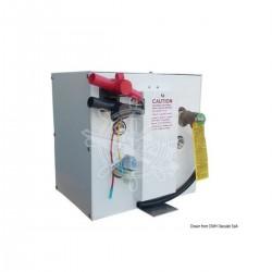 Scaldabagno solo elettrico 12 Volt con serbatoio in Alclad ed involucro di alluminio verniciato