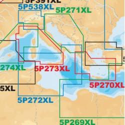 Navionics Platinum+ 5P272XL Mediterraneo centrale