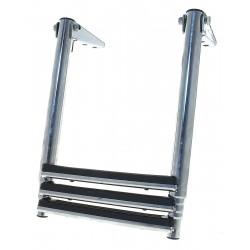 Scaletta in acciaio inox telescopica