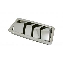 Presa aria in acciaio inox mm. 210x112