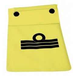Busta in PVC porta documenti con chiusura ermetica cm.21x24