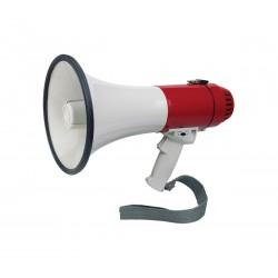 Megafono elettronico con sirena e fischio