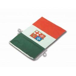 Bandiera Italiana Marina Mercantile - tessuto poliestere economico
