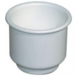 Portabicchiere e lattina in plastica da incasso