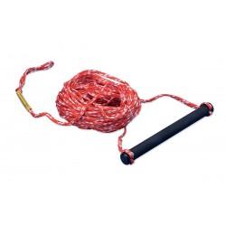 Corda per traino sci nautico con maniglia singola