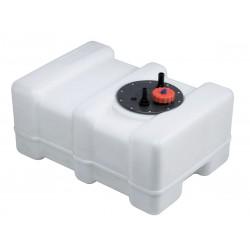 Serbatoio acqua in plastica completo di boccaporto ispezionabile