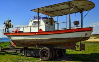 Rimorchio per barca