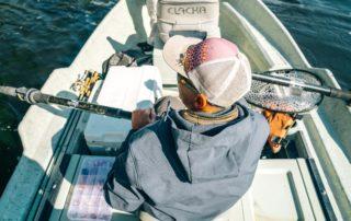Come usare l'ecoscandaglio per pescare