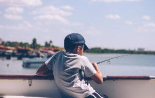 pescare bambini sicurezza